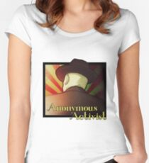 Anonymous Activist 2 Women's Fitted Scoop T-Shirt