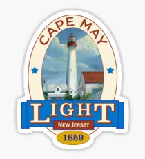 Cape May Lighthouse Sticker