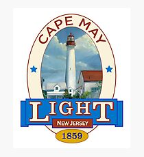 Cape May Lighthouse Photographic Print
