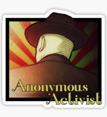 Anonymous Activist 2 Sticker