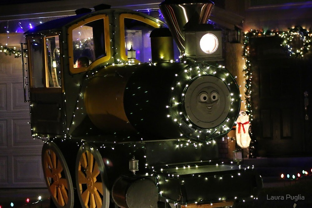 Thomas the Train by Laura Puglia
