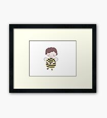 Sherlock Bee Framed Print