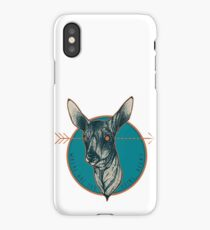 Where Are You Going, Deer? iPhone Case