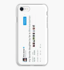 KRIS JENNER // KIM KARDASIAN TWEET iPhone Case/Skin