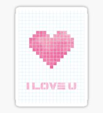 ILY_heart Sticker