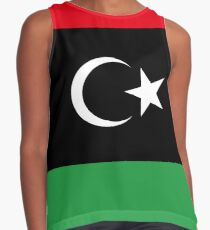 Flag of Libya Contrast Tank