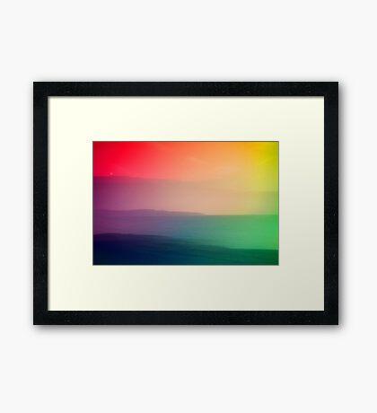 018 Framed Print