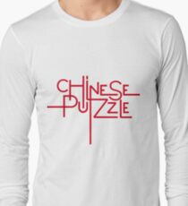 Chinese Puzzle Long Sleeve T-Shirt