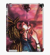 vampire, blood and rose iPad Case/Skin
