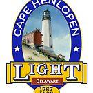 Cape Henlopen Lighthouse by James & Laura Kranefeld
