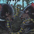 Breakfast for two by SnakeArtist
