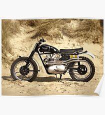 The Steve McQueen Desert Racer Poster