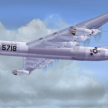 USAF B-36 Peacemaker by Skyviper