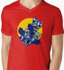 Pop foliage on Yellow T-Shirt