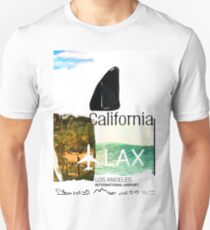 LAX. Los Angesles Airport code.  Unisex T-Shirt