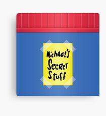 Space Jam - Michael's Secret Stuff Canvas Print