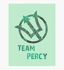 Team Percy Photographic Print