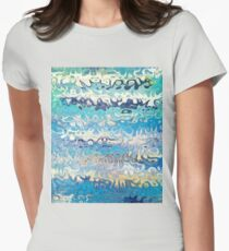 Cool - Original Abstract Design Womens Fitted T-Shirt