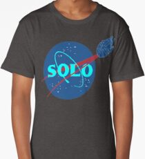 Solo Blue Ice Long T-Shirt
