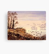 Duck Hunting Time Canvas Print