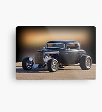1932 Ford 'Silky Satin' Coupe I Metal Print