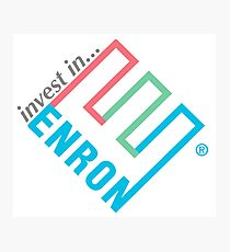 Invest in Enron! Photographic Print