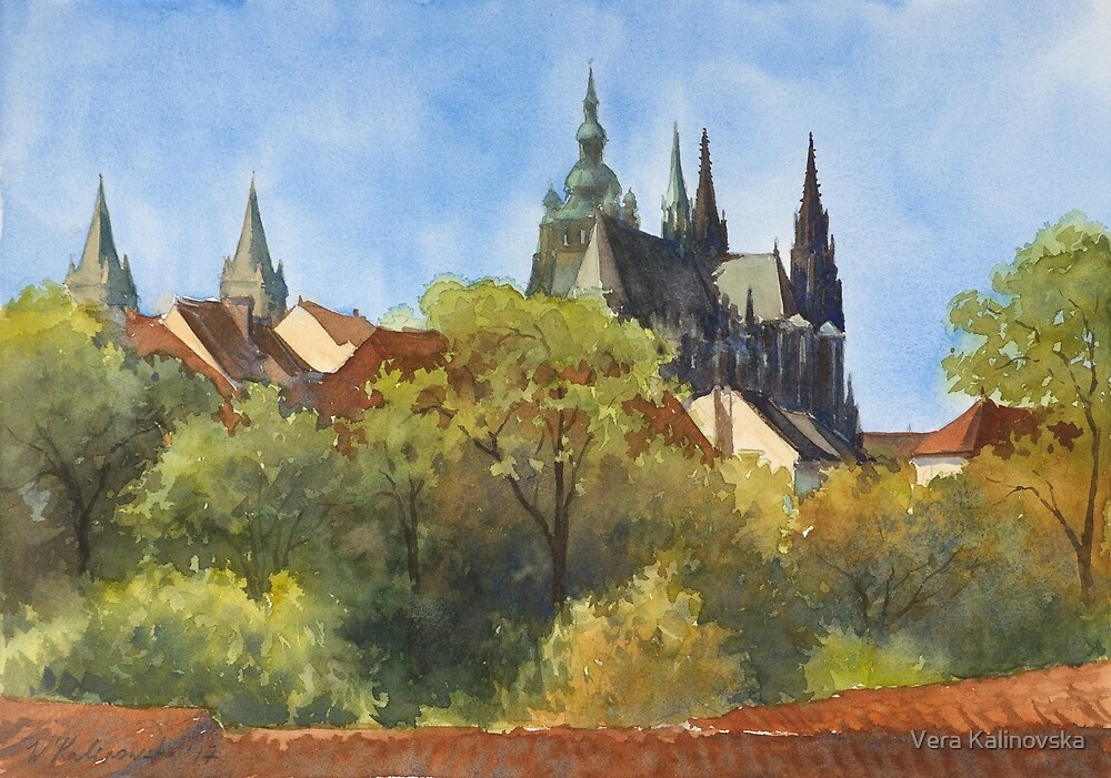 Inspired by Prague - 1 by Vira Kalinovska