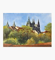Inspired by Prague - 1 Photographic Print