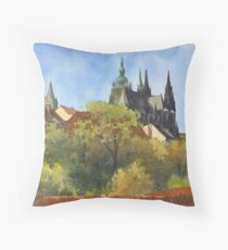 Inspired by Prague - 1 Throw Pillow