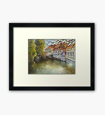 Inspired by Prague - 2 Framed Print