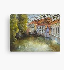 Inspired by Prague - 2 Canvas Print