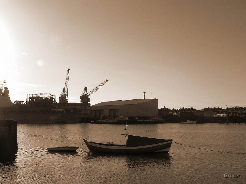 Blyth Harbour by Grocer