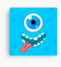 Funny monster Canvas Print