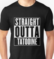 Straight Outta Tatooine (Star Wars) - T-shirt T-Shirt