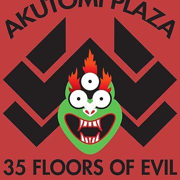 Akutomi Plaza Samurai by joefixit2