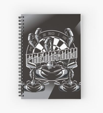 Predatory Darts Spiral Notebook