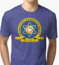 Midtown School of Science & Technology Spider-Man Tri-blend T-Shirt