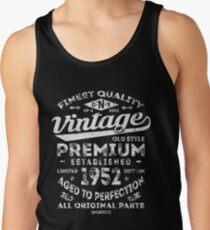 Vintage 1952 Birthday Gift Idea Tank Top