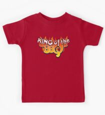 King of the BBQ Kids Tee