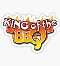 King of the BBQ Sticker