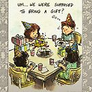 Party Faux Pas by marlowinc