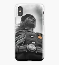 NVA Military, Woman in uniform iPhone Case