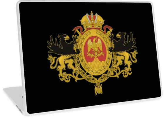 Russia Flag Tricolor Coat Of Arms by Jazyy