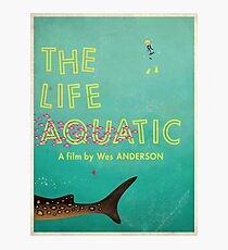 The Life Aquatic Photographic Print