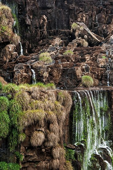 Iguazu Falls - a small section by photograham