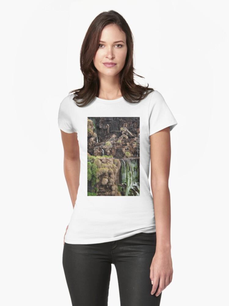 Iguazu Falls - a small section Womens T-Shirt Front