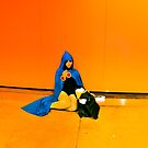 Little blue riding hood.. by HanselASolera