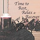 Rest, Relax and Recover by Sherry Hallemeier