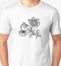 Flower Drawing T-Shirt