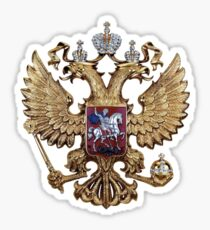 Russian coat of arms Sticker